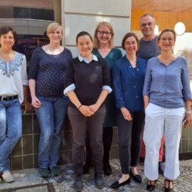 Besuch der Grünen im VAMV