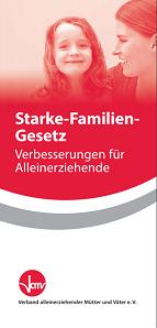 Titelbild Starke Familien Gesetz