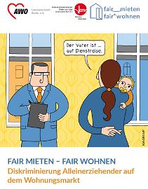 """Broschüre """"Diskriminierung Alleinerziehender auf dem Wohnungsmarkt"""""""